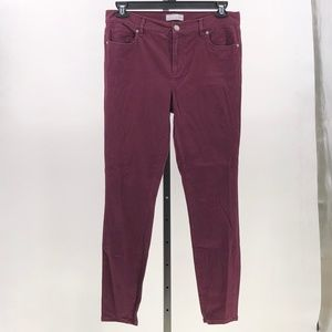 Ann Taylor LOFT made and loved jegging pant jeans